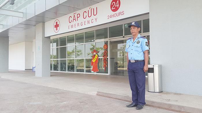 Dịch vụ bảo vệ cho các Bệnh viện